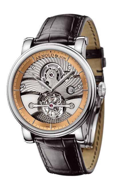 часы Arnold & Son Pink gold