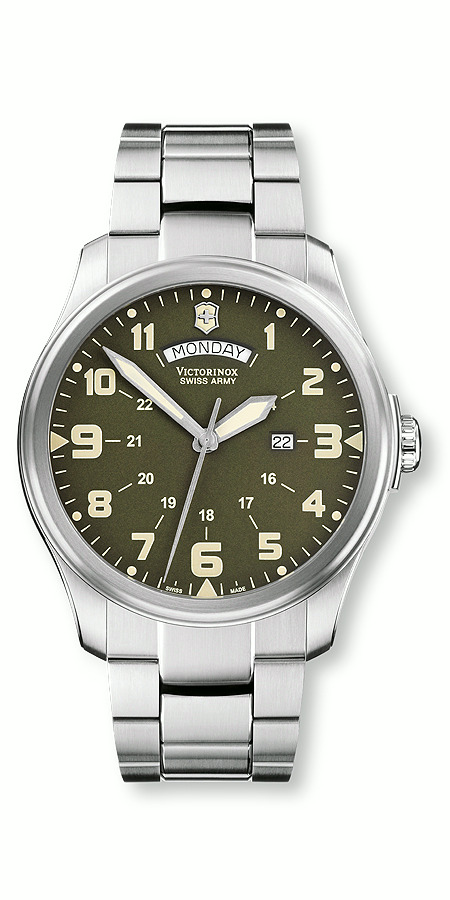 ���� Victorinox Swiss Army Infantry Vintage Day & Date