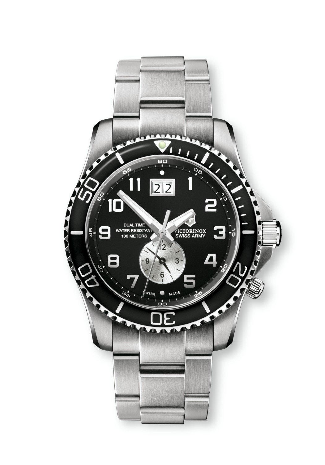часы Victorinox Swiss Army Maverick GS Dual Time