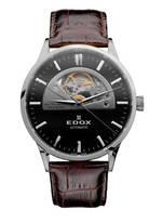 часы Edox Les Vauberts Open Heart Automatic