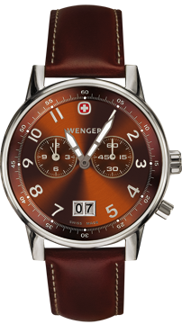 часы Wenger Dual Time 2-Eye