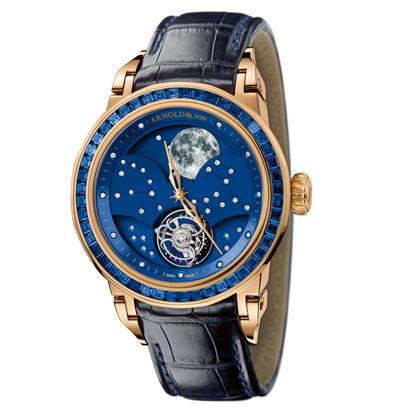 часы Arnold & Son Blue Saphire