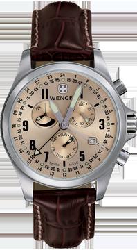 часы Wenger Dual Time