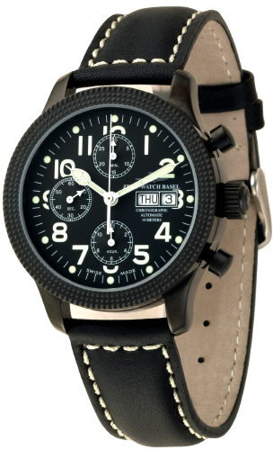 часы Zeno Chronograph Blacky