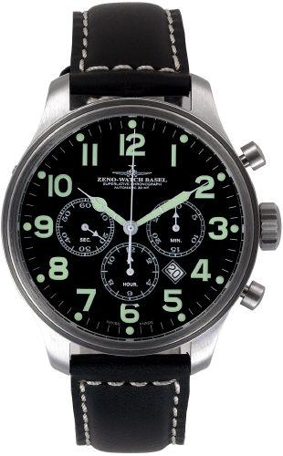 часы Zeno Chrono Tricompax Date