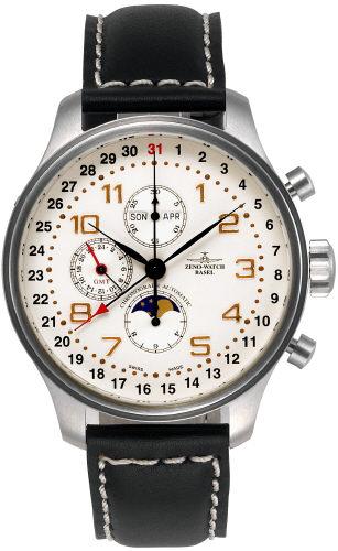 часы Zeno Chronograph Full calendar