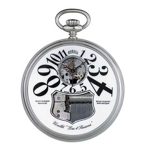 часы Boegli Baroque Pocket Watch
