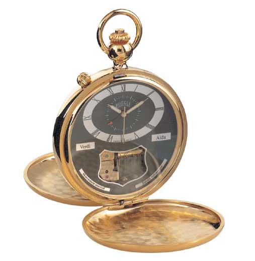 часы Boegli Grand Tenor Pocket Watch