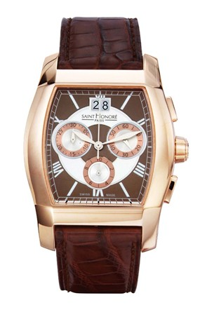часы Saint-Honoré Paris MONCEAU Grand Quartz Chronograph