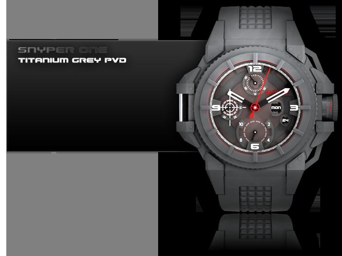 часы Snyper One Titanium PVD