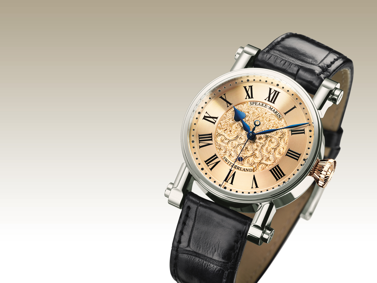 часы Speake-Marin Hand-Engraved