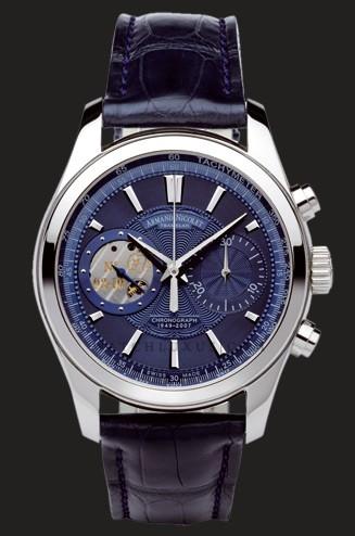 часы Armand Nicolet Blue Dial