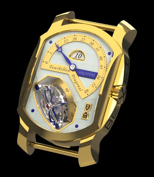 часы Bexei TOURBILLON DIAGONAL