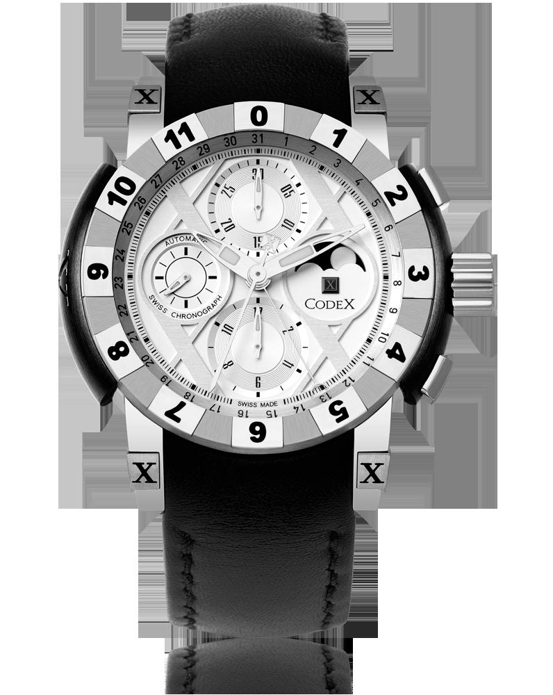 часы CodeX CHRONO Steel case