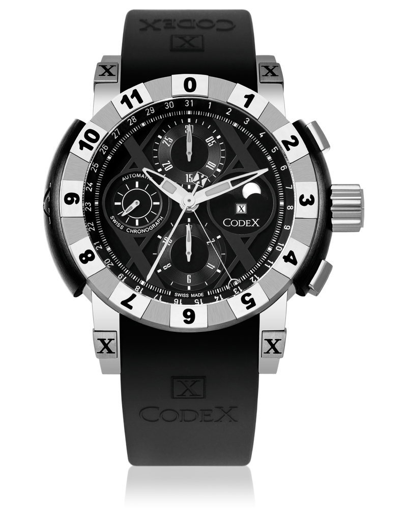 часы CodeX CHRONO Steel case