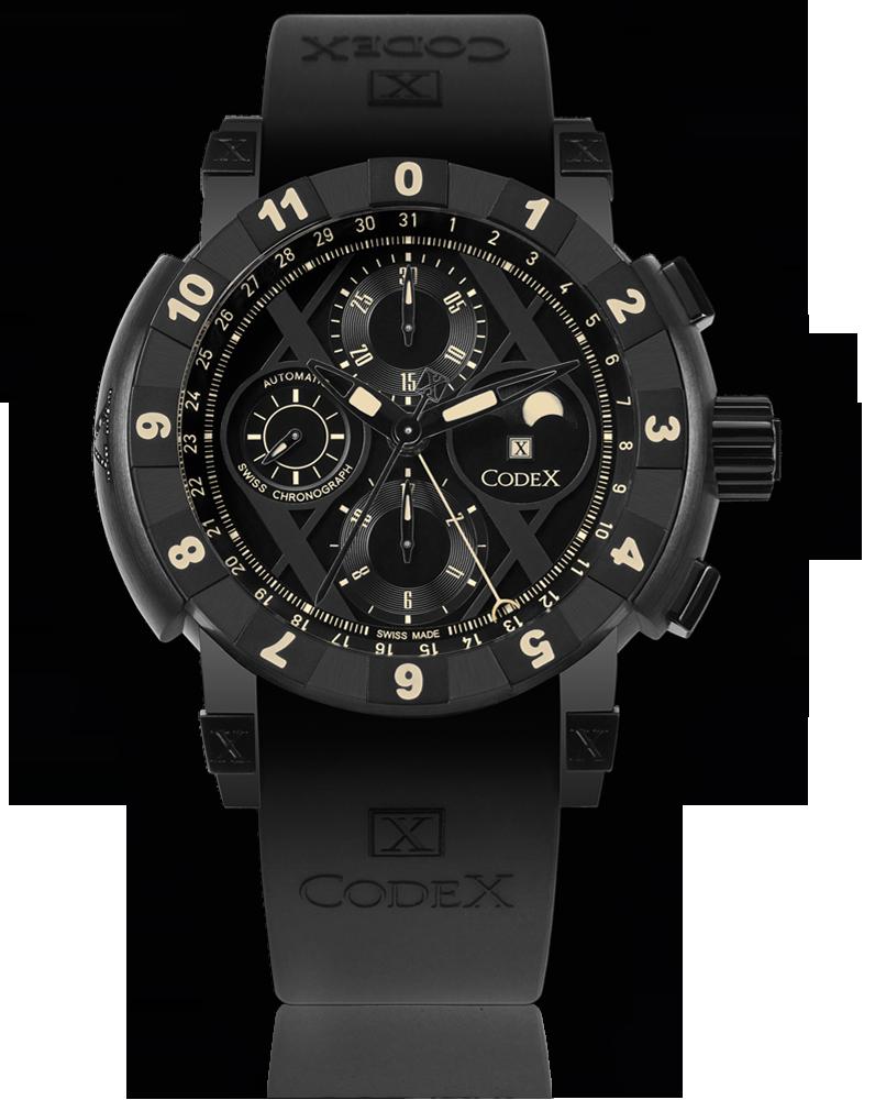 ���� CodeX CHRONO Black diamond