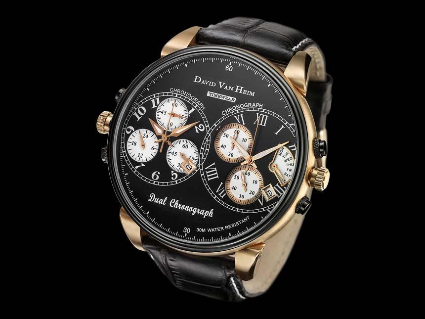 часы David van Heim Dual Chronograph