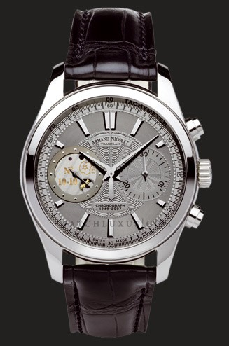 часы Armand Nicolet Grey Dial