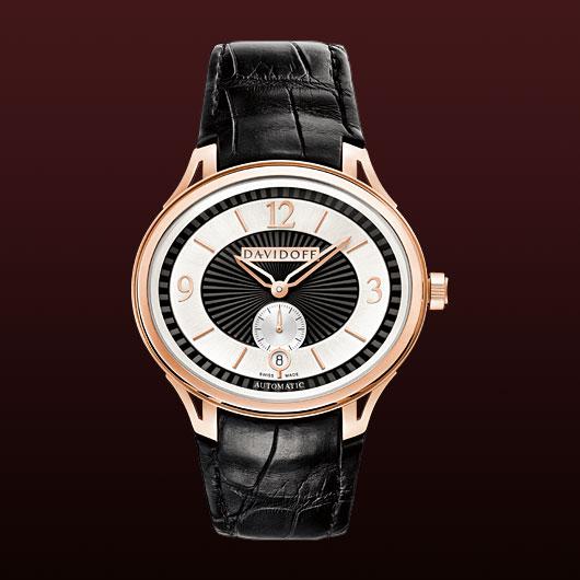 часы Davidoff Red gold bicolour dial