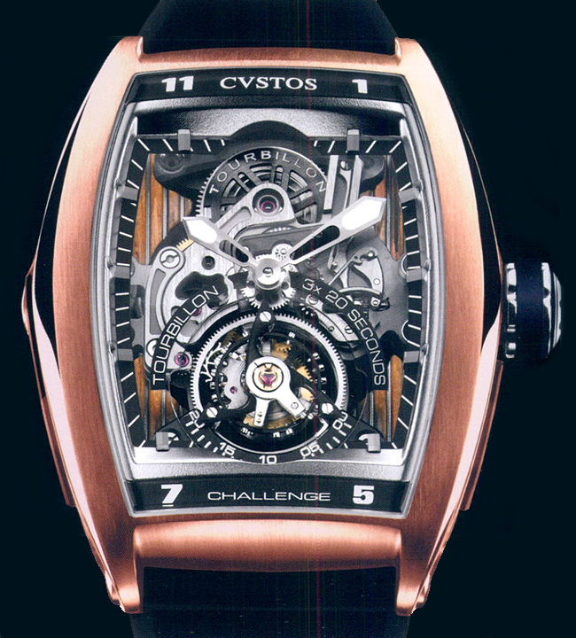 часы Cvstos Tourbillion sport Yachting Limited Edition 25