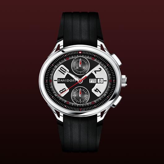 часы Davidoff Gent automatic rubber strap