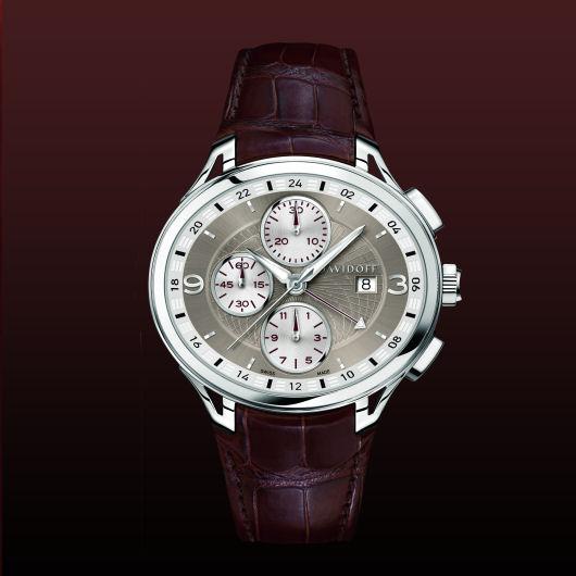 часы Davidoff Chronograph second time zone 24 hours