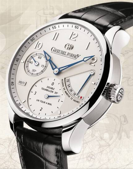 часы Greubel Forsey Double Tourbillon 30° Secret