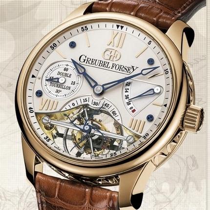 часы Greubel Forsey Double Tourbillon 30° Vision