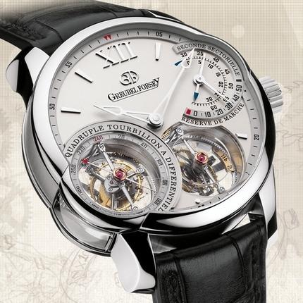 часы Greubel Forsey Quadruple Tourbillon à Différentiel