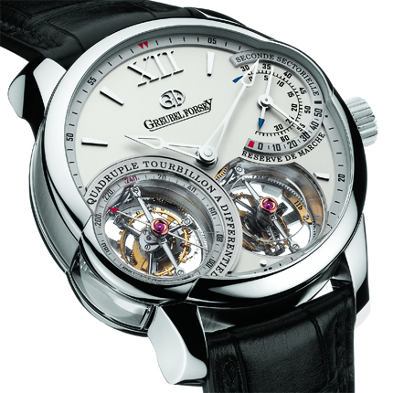 часы Greubel Forsey Quadruple Tourbillon platinum