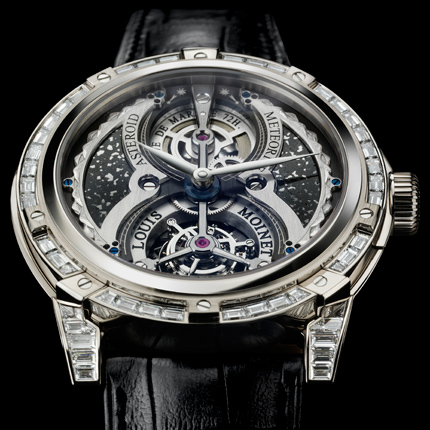 часы Louis Moinet Meteoris Tourbillon Asteroid