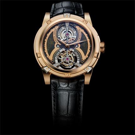 часы Louis Moinet Meteoris Tourbillon Rosetta Stone
