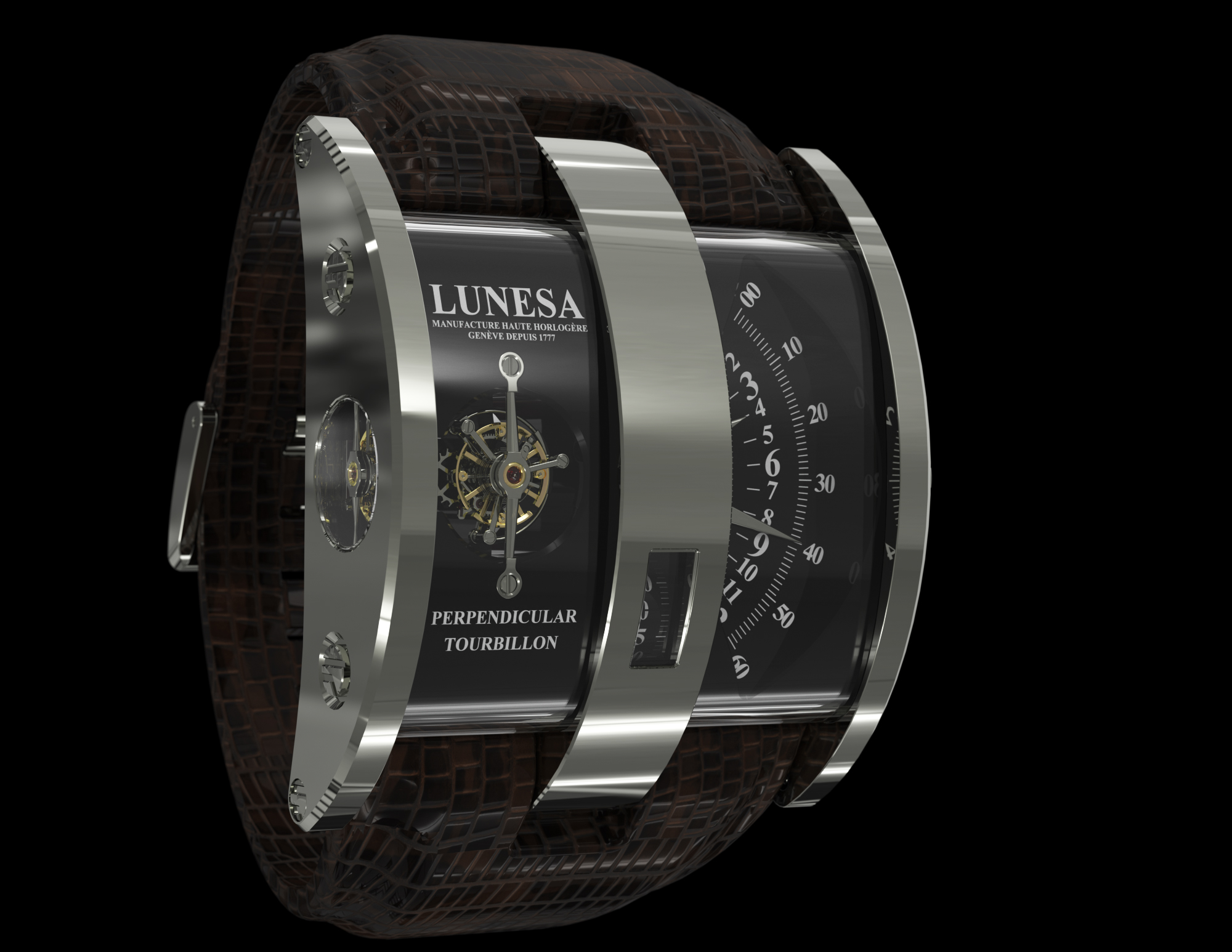 часы Lunesa  PERPENDICULAR TOURBILLON