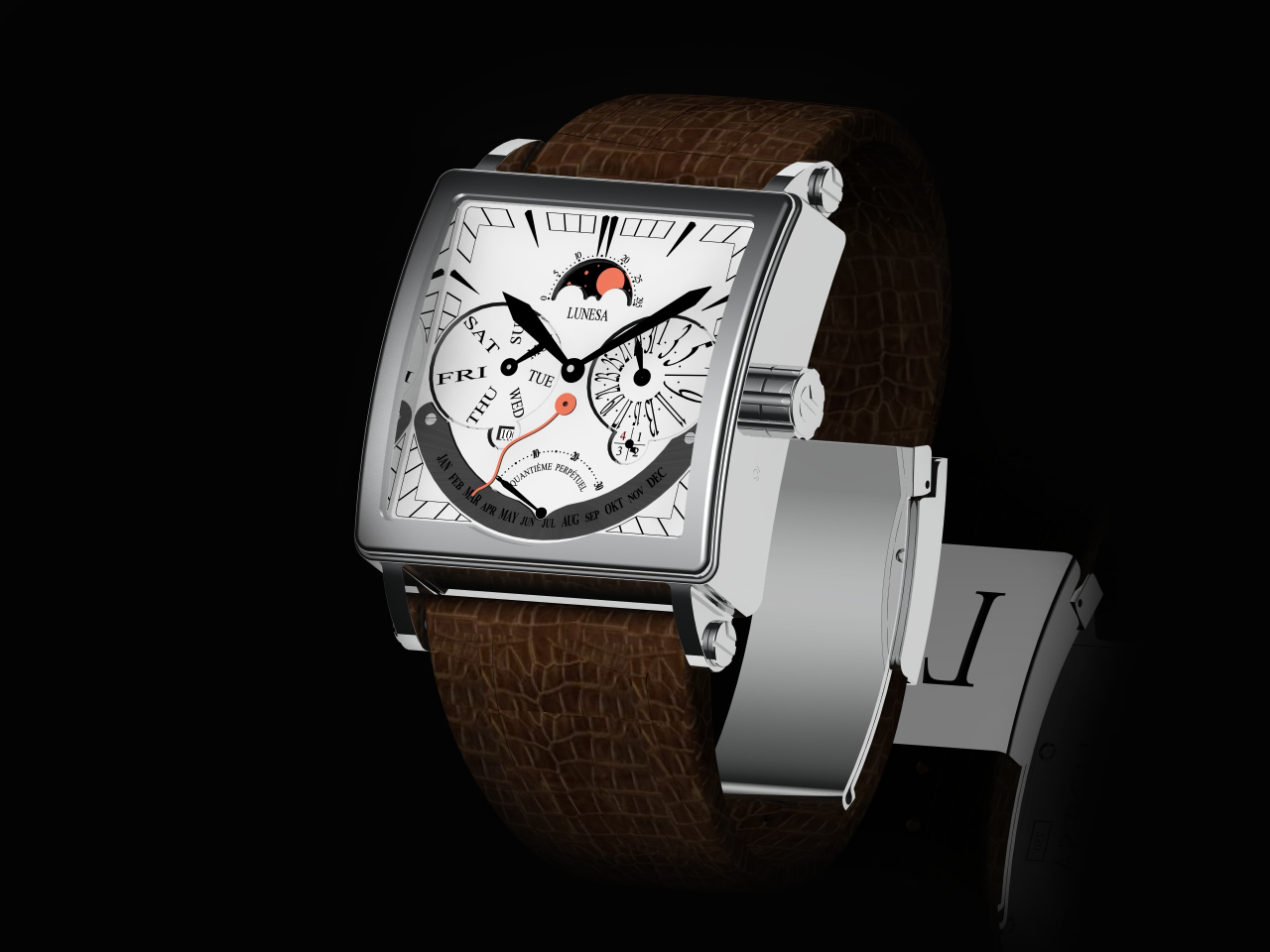 часы Lunesa  PERPETUAL CALENDAR