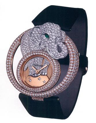 часы Cartier Le Cirque Elephant Motif