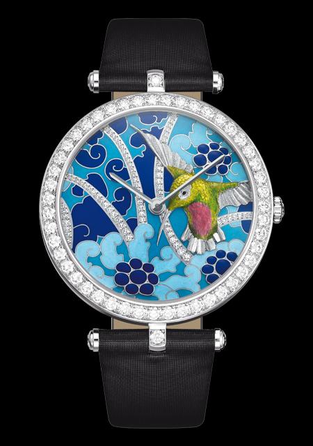 часы Van Cleef & Arpels Extraordinary Hummingbirds