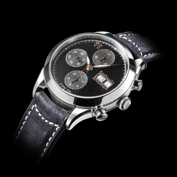 часы Raidillon 38mm Automatic Chronograph