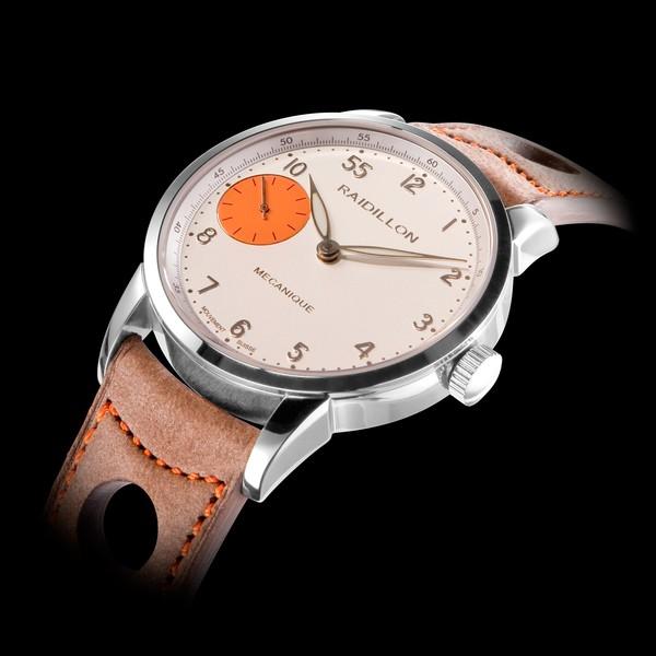 часы Raidillon 42mm Mechanical Movement White