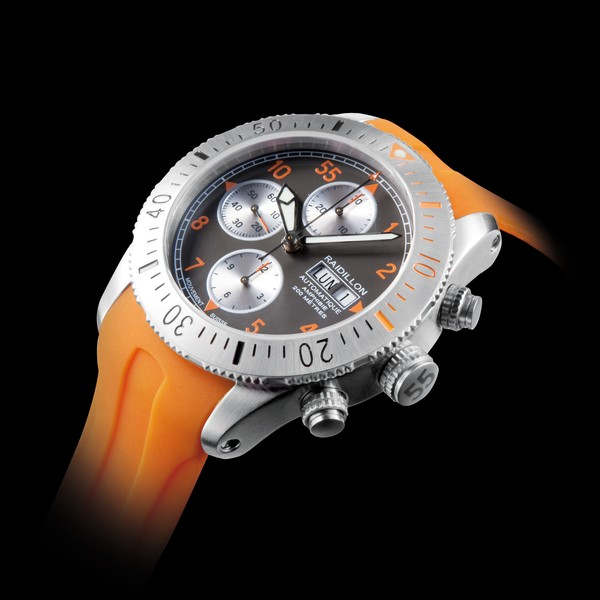часы Raidillon 43mm Waterproof Chronograph