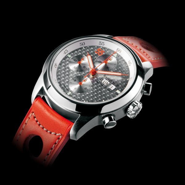 часы Raidillon 44mm Automatic Chronograph Engine-turned aluminium