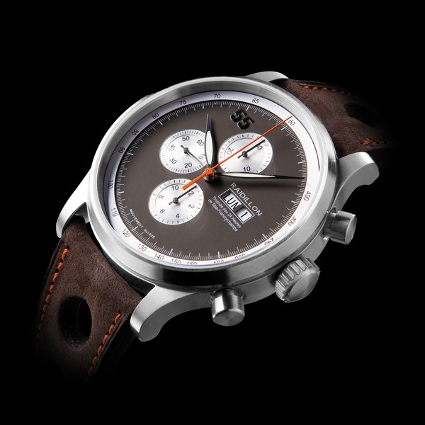 часы Raidillon 48mm Automatic Chronograph Charcoal