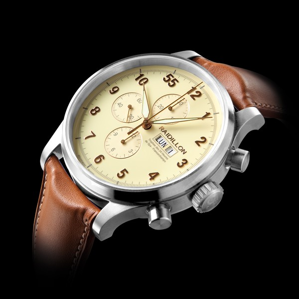 часы Raidillon 48mm Automatic Chronograph Vanilla