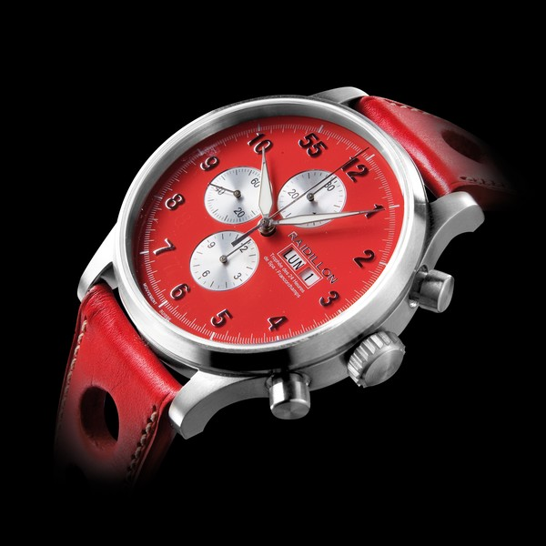 часы Raidillon 48mm Automatic Chronograph Red