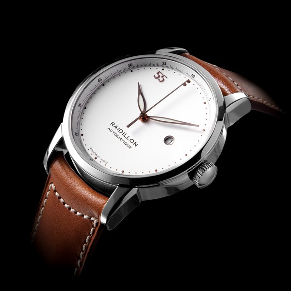 часы Raidillon 42mm Automatic Movement White