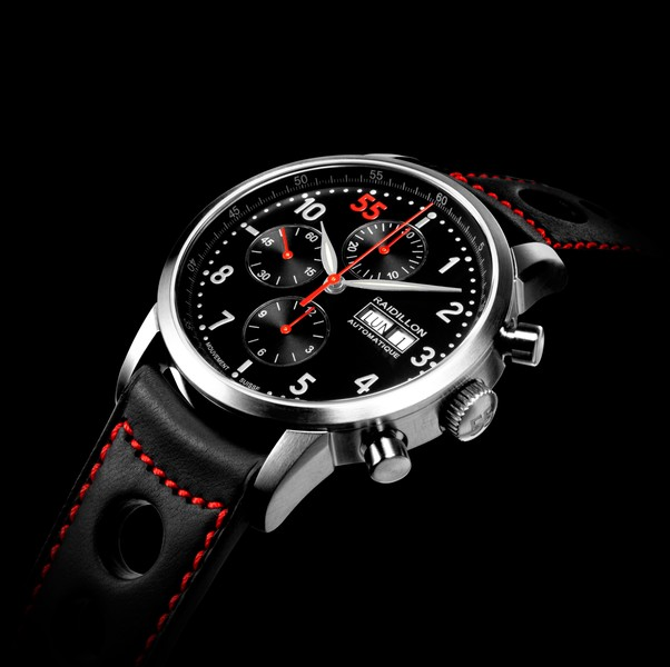 часы Raidillon 42mm Automatic Chronograph