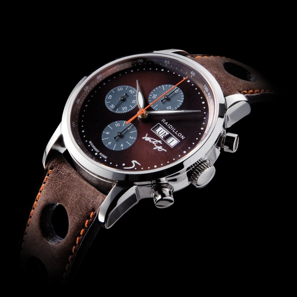 часы Raidillon 42mm Automatic Chronograph Vertigo Edition Brown