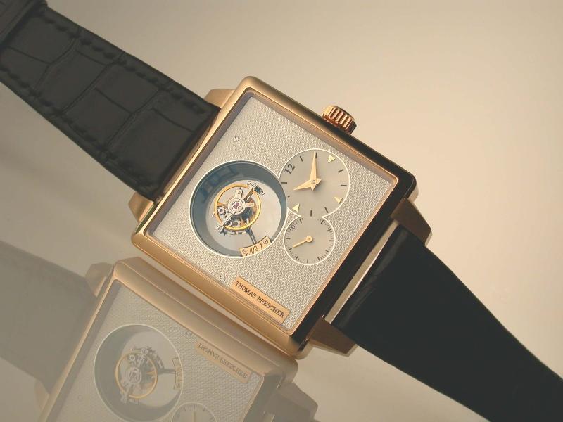 часы Thomas Prescher Single Axis Tourbillon