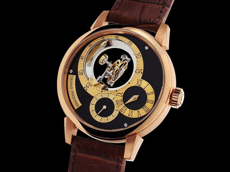часы Thomas Prescher Triple Axis Tourbillon Regulator