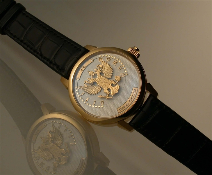 "часы Thomas Prescher ""RUSSIAN EAGLE"""