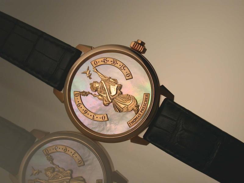 "часы Thomas Prescher ""GEISHA"""